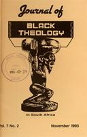 Journal of black theology in South Africa, Vol. 7, No. 2