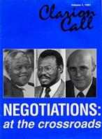 Clarion call, Vol. 1, 1991
