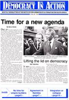 Democracy in action, Feb. 1990