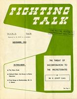 Fighting talk, Vol. 11, No. 10, Nov. 1955