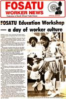 Fosatu worker news, 1985