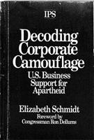 Decoding Corporate Camouflage: U.S. Business Support for Apartheid