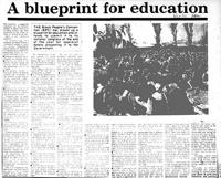 A blueprint for education