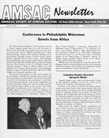 AMSAC newsletter, Vol. 2, No. 11