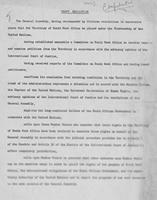 Draft Resolution