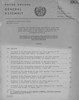 Committee on South West Africa Seventh Session