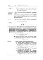 Separate Representation of Voters Act, Act No. 46 of 1951