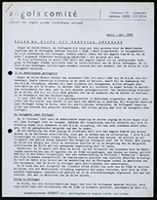 [Bulletin of the Angola Comité, Apr. - May 1966]