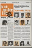 De anti-apartheidskrant, Extra Editie Nov. 1992