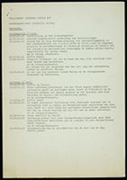 "[Programme and other information, working congress ""B(l)acking South Africa II"", Wageningen, September 1971]"