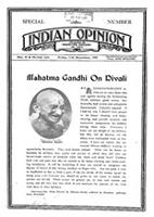 Indian Opinion Vol.53 No.43 and No.44 Nov 1954 Special Diwali Issue