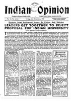 Indian Opinion Vol.58 No.44 Nov 1960