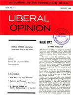 Liberal Opinion Vol. 6 No. 1 Jan 1968
