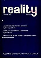 Reality Vol. 8 No. 6 January 1977
