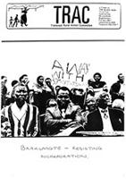 Braklaagte: Resisting Incorporation: Paper Presented at the Black Sash National Conference 1989