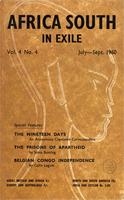 Africa South In Exile, Vol. 4. No. 4