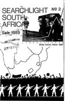 Searchlight South Africa, No. 2, A Marxist Journal of South African Studies