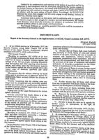 Report Of The Secretary-General On The Implementation Of Resolution 418 (1977) On The Question Of South Africa Adopted By The Security Council At Its 2046th Meeting On 4 November 1978