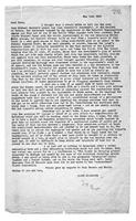 [Letter from Terence Ranger to Jane Symonds]
