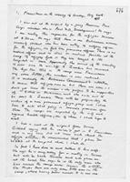 [Handwritten Notes by Terence Ranger]