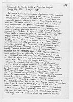 [Handwritten Notes by Terence Ranger about an interview with Dr. Charles Ward]