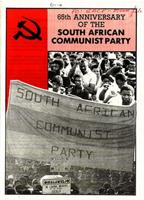 65th Anniversary of the South African Communist Party