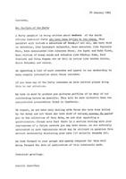 Letter from General Secretary of the South African Communist Party to members