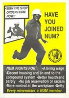 Have you joined the NUM?