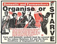 Domestic and farmworkers organise or starve