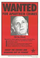 Wanted for apartheid crimes