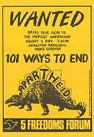 Wanted : 101 ways to end apartheid
