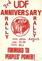 3rd UDF anniversary rally : Forward to people's power!