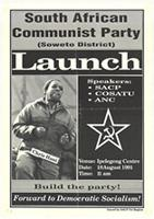 South African Communist Party (Soweto district ) : Launch
