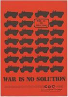 War is no solution
