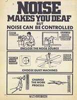 Noise makes you deaf but noise can be controlled