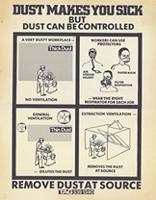 Dust makes you sick but dust can be controlled