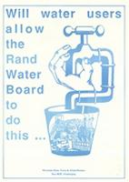 Will water users allow the Rand Water Board to do this ...