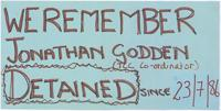 We remember Jonathan Godden