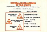 Chemicals are dangerous to your health
