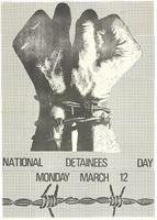 National Detainees Day: Monday March 12