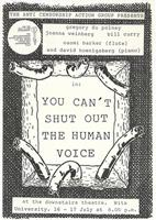 You can't shut out the human voice