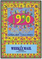 The full colour 1990 picture calendar by Caroline Cullinan