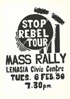 Stop rebel tour : Mass rally