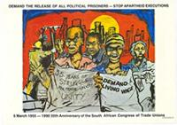 Demand the release of all political prisoners - stop apartheid executions