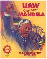 UAW Welcomes Mandela