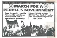March for a people's government