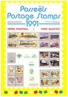 Postage stamps: third quarter 1991