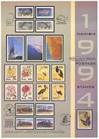 Postage stamps: Namibia 1994