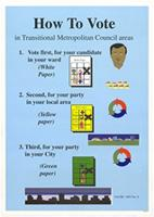 How to vote in Transitional Metropolitan Council areas