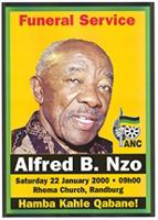 Funeral service: Alfred B. Nzo